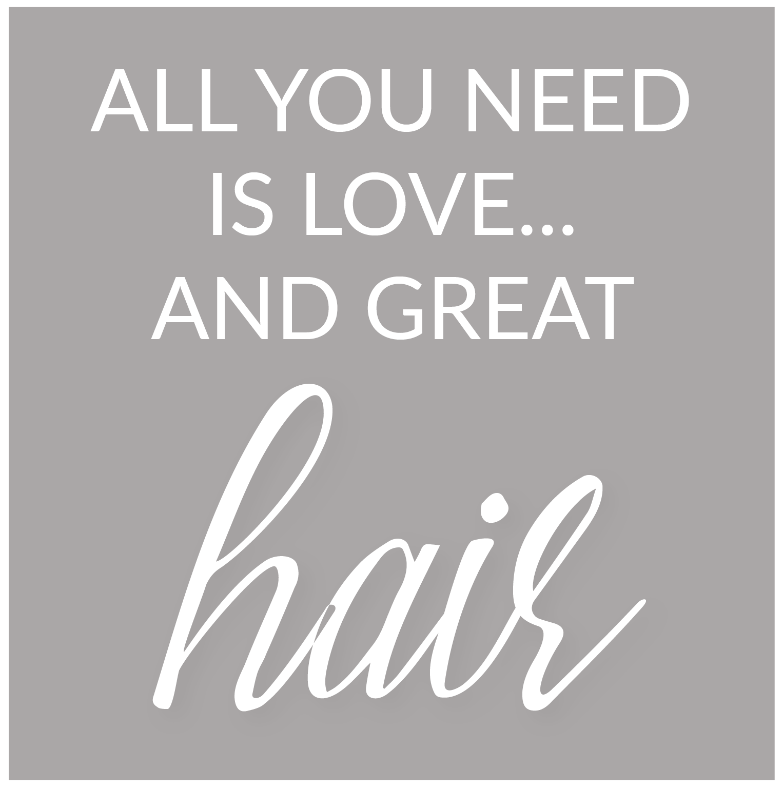 Blueprint hair studio bermudas luxury hair salon love and great hair quote malvernweather Images